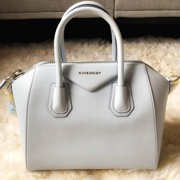 4f13e5331f Stunning Brand New Givenchy Baby Blue Antigona